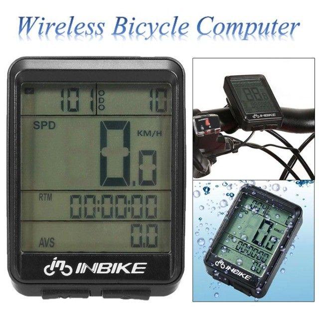 Ciclo Computador Velocímetro Bicicleta Bike Sem Fio Wireless - Foto 3