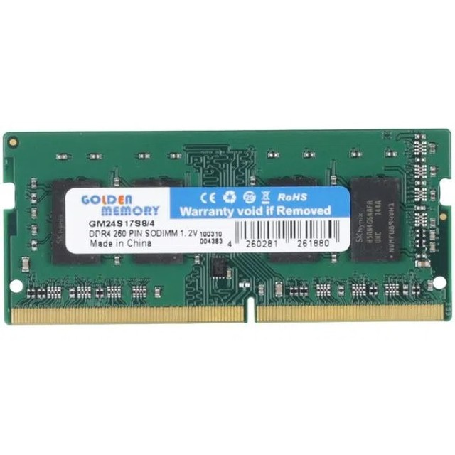 memoria ram ddr4 4Gb 2133Mhz para notebook