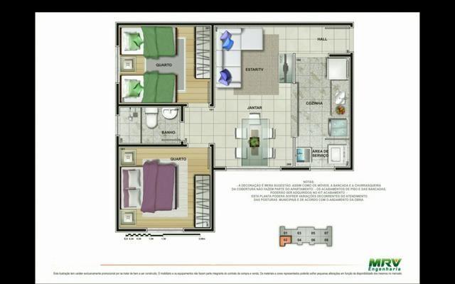 Apartamento condomínio residencial jangadas