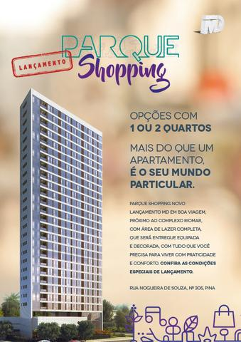 Edf. Parque shopping | MD proximo ao rio mar -, 2qts -suite /55 m² todo no porcelanato