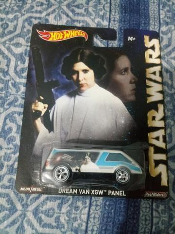 Hot Wheels Pneus de borracha Leia Star Wars
