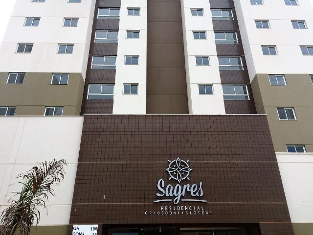 Apartamentos na Samambaia Sul de 3 quartos com lazer no Residencial Sagres