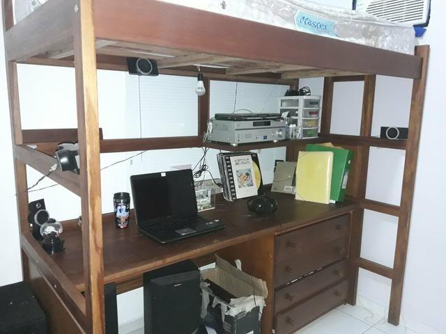 Cama-escritório