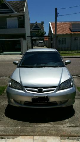 Good Honda Civic LX 1.7 Automático 4 Portas   2004