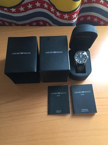 e50f9cdd1 Relógio Empório Armani Masculino Ar0509 - Bijouterias, relógios e ...