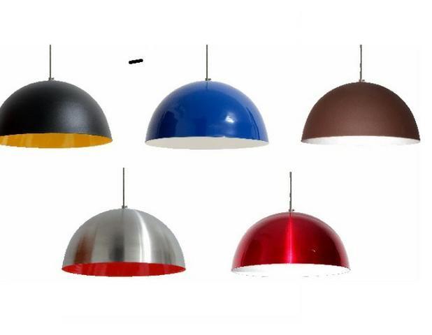 Pendente Gran Ball 40cm Inove varias cores