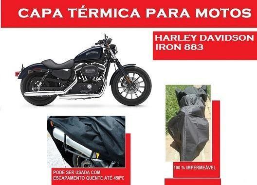 Capa Térmica Harley Iron 883* V-Road * Dyna