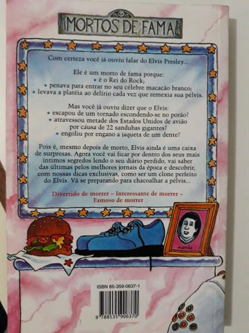 Livro Elvis e sua Pélvis - Michel Cox - Foto 2