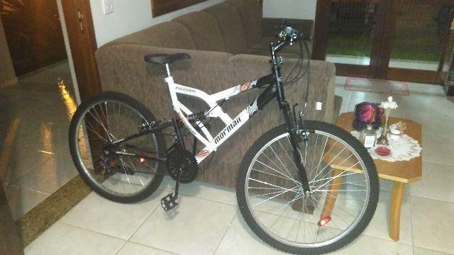 Bicicleta Mormaii aro 26 dupla suspensão 21v