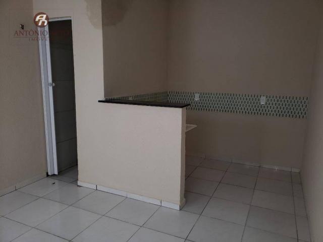 Apartamento com 2 dormitórios para alugar, 40 m² por R$ 500,00/mês - Serrinha - Fortaleza/ - Foto 3