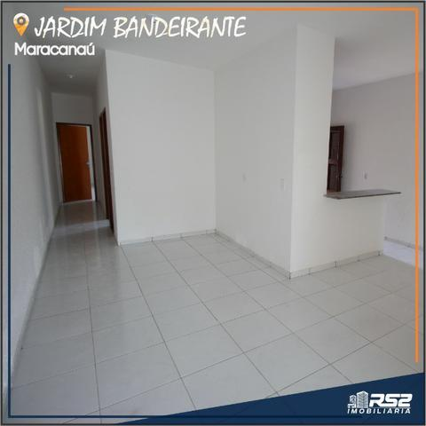 Casa Plana de 3 Quartos - Jardim Bandeirante - Documentos Inclusos - Foto 4