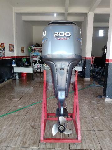Motor de Popa 200 HP Yamaha Ano 2011 Revisado - Foto 4