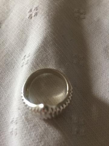 Anel de Prata aro 18 - Foto 2