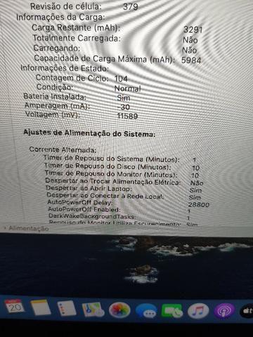Macbook Pro Retina 2014 13p Proc. I5 8gb Ram Com Hd Ssd 128 - Foto 6