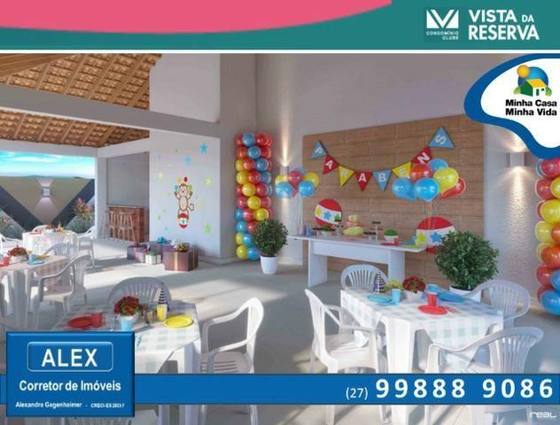 ALX - 46 - Apartamento com 3 Quartos - Entrada Parcelada em 60 meses - Vista da Reserva - Foto 7