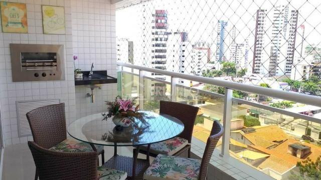 (JR) Lindo Apartamento no Cocó 95m² - 3 Quartos,( 2 Suíte ) + Moveis Projetados - 2 Vagas - Foto 17