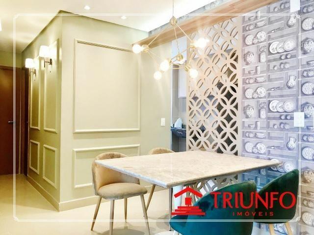 (JG) (TR 18.528) Apto. Luc.Cavalcante,70M², 3Quartos,2 Suites,Sala E/J, V.Gourmet,Lazer - Foto 15