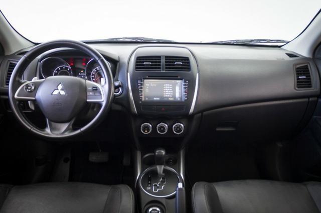 Mitsubishi ASX 2.0 4X4 AWD 2014 Branco Automático Completo - Foto 7