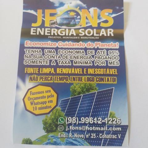 Energia Solar Fotovoltaica PROMOÇÃO DE ANO NOVO