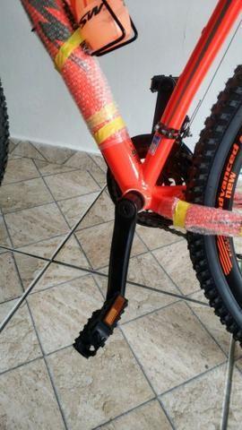 Novo! Bicicleta Aro 29 - 21v - Câmbios Shimano - Freio a Disco Mecânico com Suspensão - Foto 2