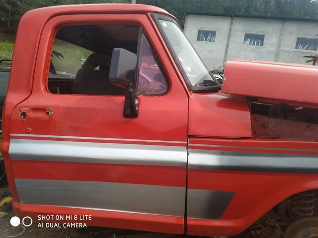 Gabina F1000 completa capô paralama e vidros dianteiro e trazeiro - Foto 8