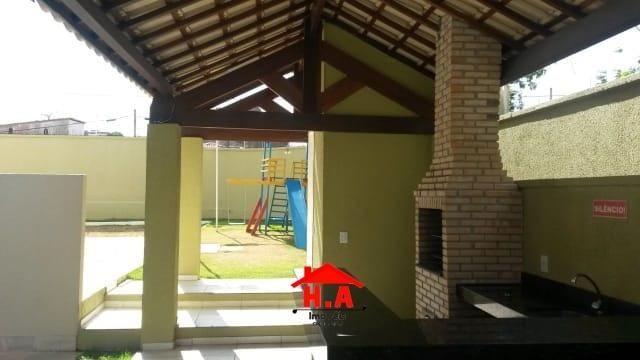 Apartamento com 3 dormitórios à venda, 64 m² por R$ 240.000 - Serrinha - Fortaleza/CE - Foto 2