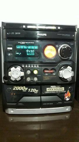 Vendo um aparelho de som mais antigo - Foto 2
