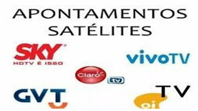 Apontamento satélite