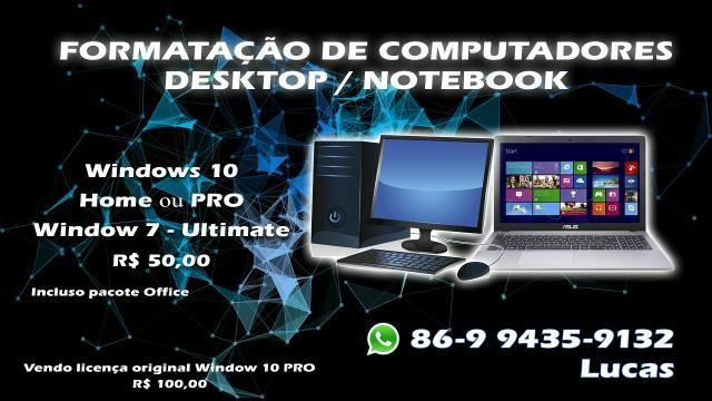 Formatação de computadores/notebook - Foto 2