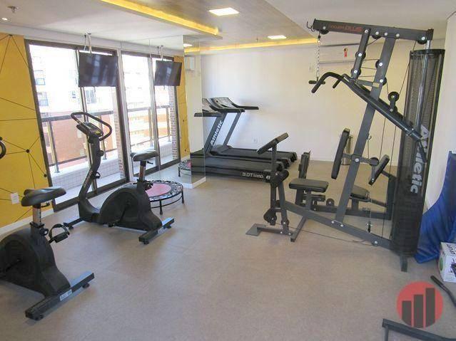 Apartamento com 3 dormitórios para alugar, 92 m² por R$ 2.100/mês - Papicu - Fortaleza/CE - Foto 8