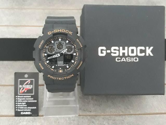 d233d549b84 Relógio G Shock Casio Azul Lançamento Novo - Bijouterias