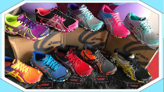2224bcaf15223 Super Oferta tênis ASICS importado com gel novo várias cores ...