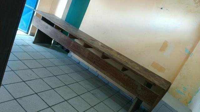 Mesa de madeira ! vendo ou fasso troca