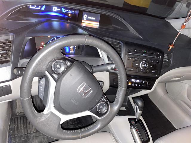 Honda Civic 2.0 Lxr Flex - Foto 8