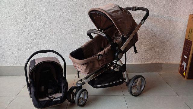 Carrinho De Bebê Kiddo Compass II - Foto 4