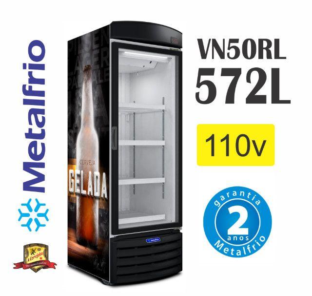 Cervejeira Porta de Vidro Vn50 Metalfrio - Foto 2