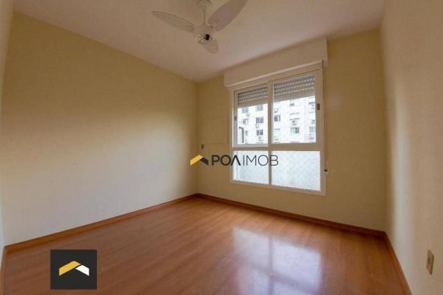 Apartamento com 2 dormitórios para alugar, 75 m² por R$ 2.130,00/mês - Rio Branco - Porto  - Foto 16