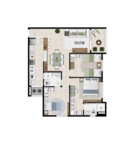 Apartamento à venda com 2 dormitórios em Benfica, Fortaleza cod:DMV10 - Foto 14