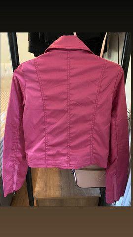 Jaquetinha pink tam. M /Blusãozinho Forever M/ Blazer - Foto 2
