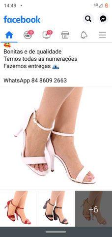 Sandálias luxo - Foto 3