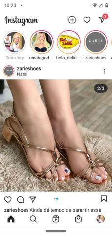 Sandálias luxo - Foto 2