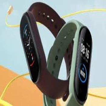 Smartwatch Mi band 5 pulseira inteligente - Foto 4