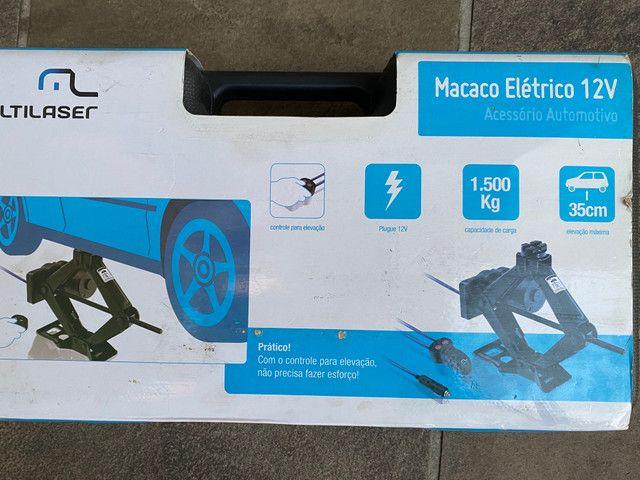 Macaco Elétrico Automotivo 12V - Foto 2