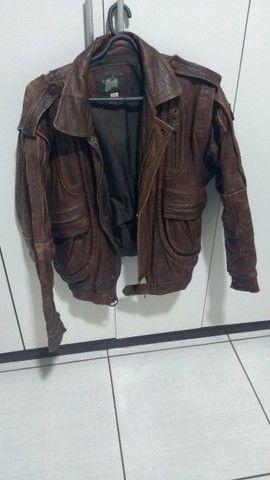 Vendo jaqueta de couro legítima age tina - Foto 3