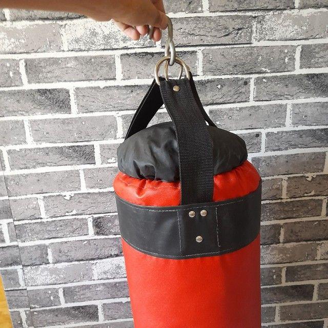Saco de boxe seminovo  em perfeitas condições - Foto 2