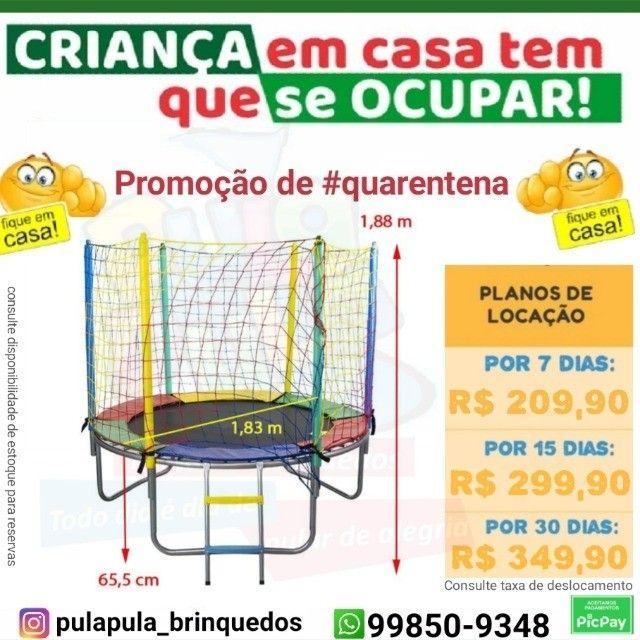 Mega Promoção: Aluguel de pula pula por 7, 15 ou 30 dias em sua casa ou apartamento - Foto 5