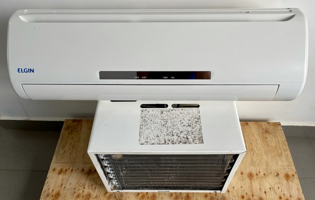Ar condicionado elgin 7000 Btus 110v convencional