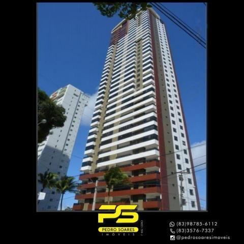 Apartamento com 4 dormitórios à venda, 216 m² por R$ 1.522.234 - Altiplano Cabo Branco - J