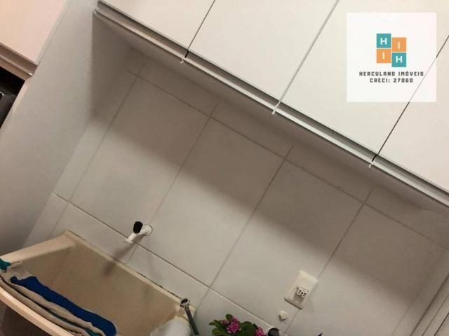 Apartamento com 2 dormitórios à venda, 54 m² por R$ 195.000,00 - Iporanga - Sete Lagoas/MG - Foto 8