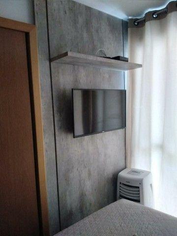 Lindo ap com varanda e área de lazer mobiliado - Foto 6